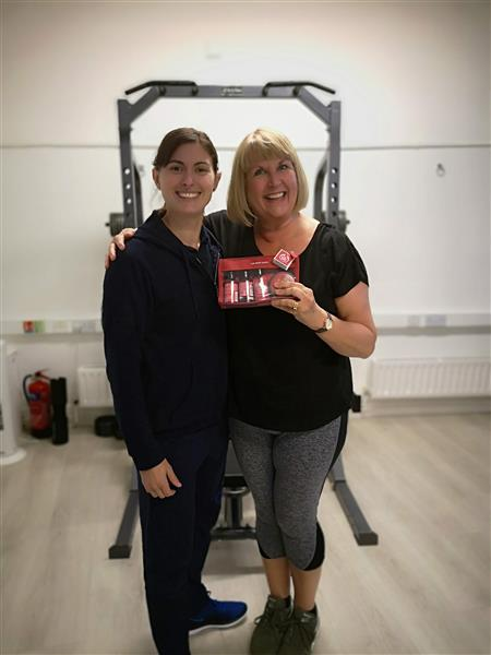 tracey client of the month - legends programme - body transformation